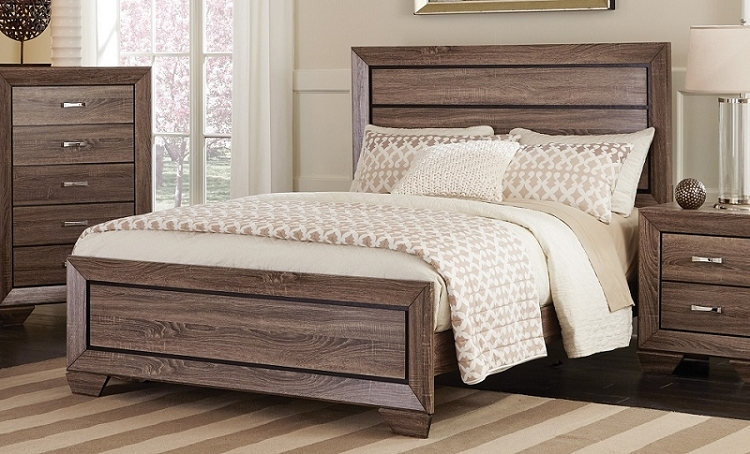 COASTER  QUEEN SIZE BED FRAME, 204191
