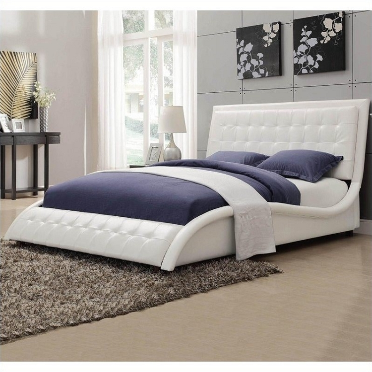 COASTER QUEEN SIZE BED FRAME, 300372