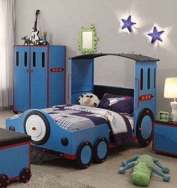 ACME, TRAIN TWIN BED,  37560T