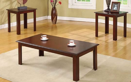 Asia Direct 3 Pcs Set Of Table 1coffee Table 2end Tables 4228