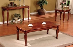3 PCS SET TABLES, 1COFFEE TABLE+2 END TABLES