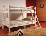 BELLA ESPRIT TWIN TWIN BUNK BED, 45126WH