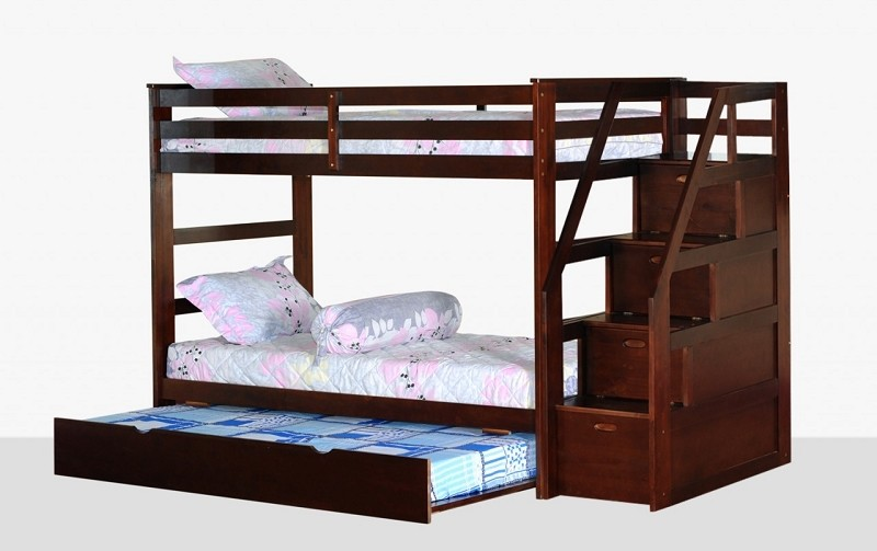 BELLA ESPRIT TWIN/TWIN+TRUNDLE+STEP STORAGE, 45165ESP