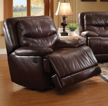 ACME POWER MOTION RECLINER BURGUNDY, 52162