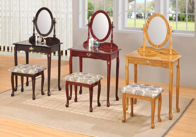 : vanity table and bench set - pezcame.com
