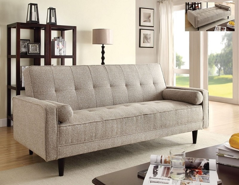 ADJUSTABLE SOFA W/ 2PILLOWS