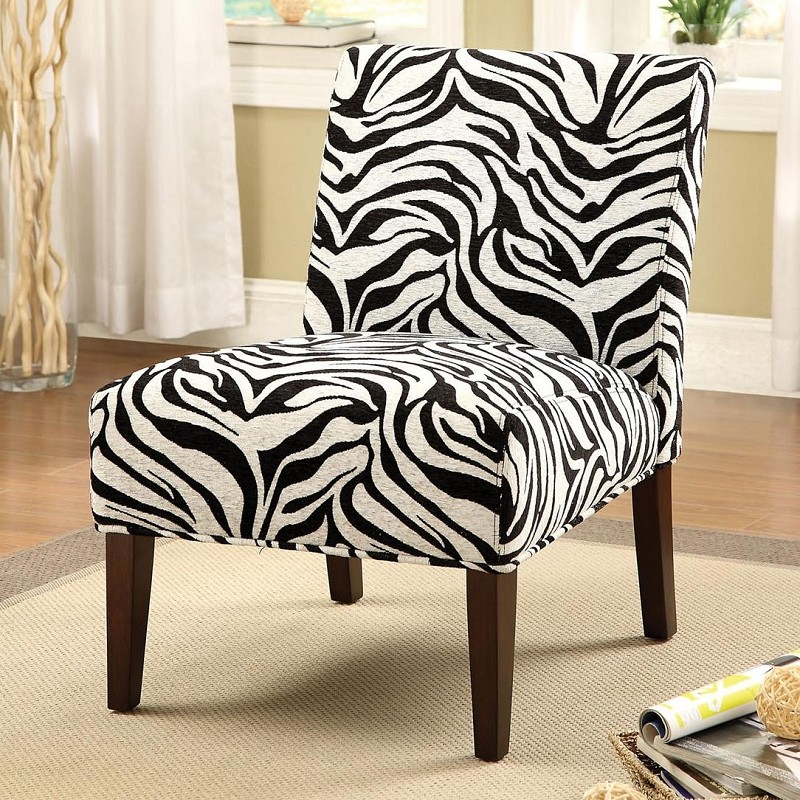 ACME, ZEBRA ACCENT CHAIR, AC-59152