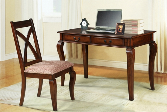 Asia Direct 2 Pc Writing Desk Chair 6541