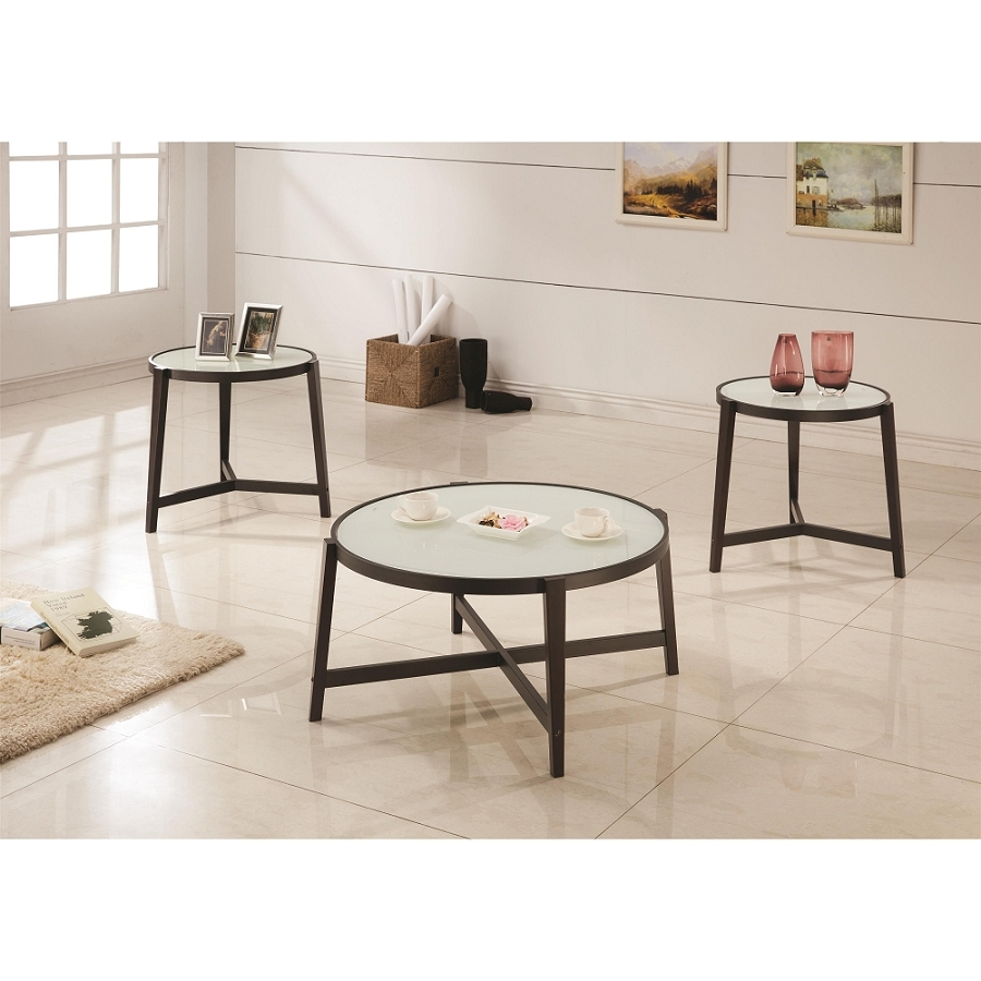 COASTER 3 PCS SET OFTABLES, 700180