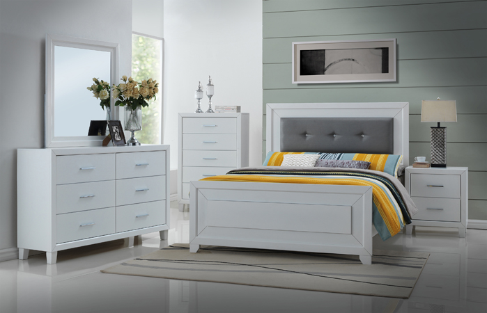 Asia Direct 6 Pcs Bedroom Set 8020