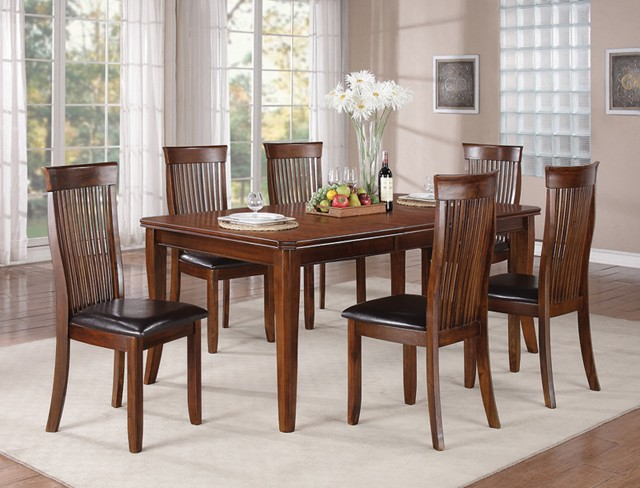 7PCS DINING TABLE+6CHAIRS