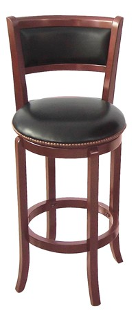 ASIA DIRECT, SWIVEL BAR STOOL CHERRY, 9140-CH