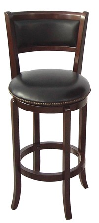 ASIA DIRECT, SWIVEL BAR STOOL ESPRESSO, 9140-ESP
