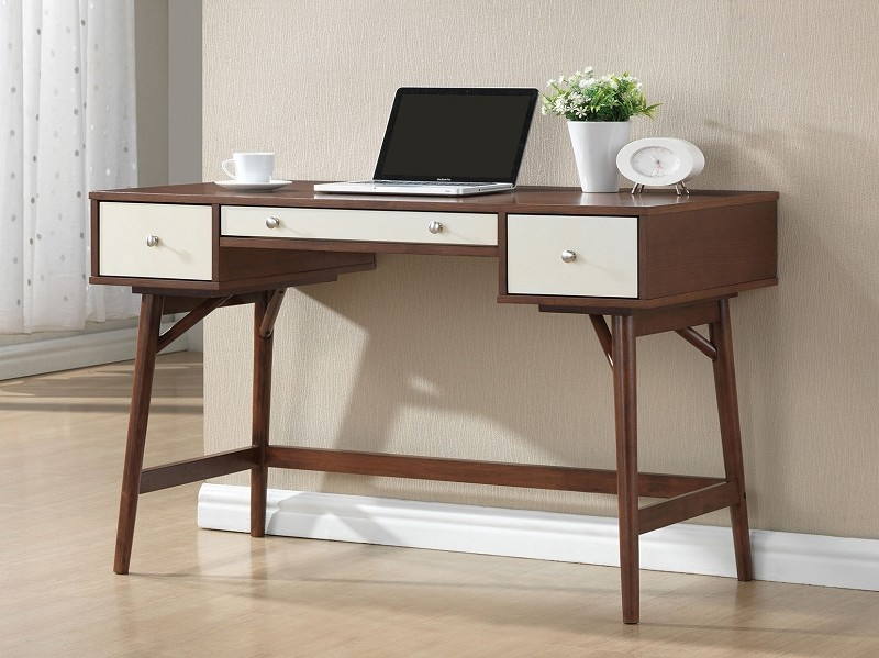 ACME DESK WALNUT/CREAM, 92140