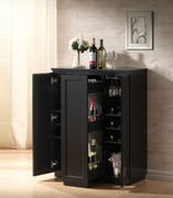 ACME, WINE RACK BLACK FINISH, 97020