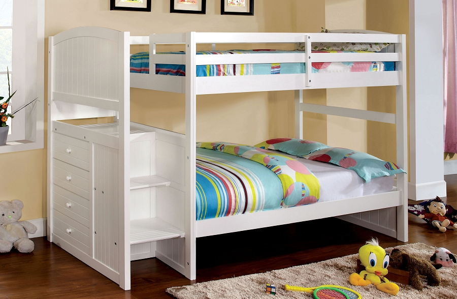 APPENZELL TWIN/TWIN BUNK BED + 4 DRAWERS