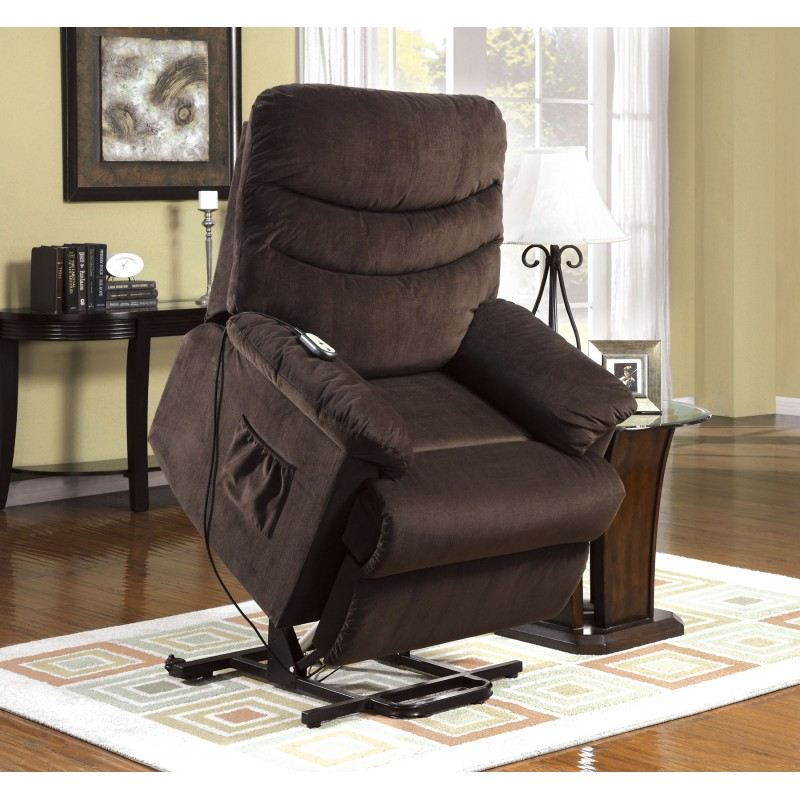 Furniture Of America Perth Power Lift Recliner Cm Rc6933