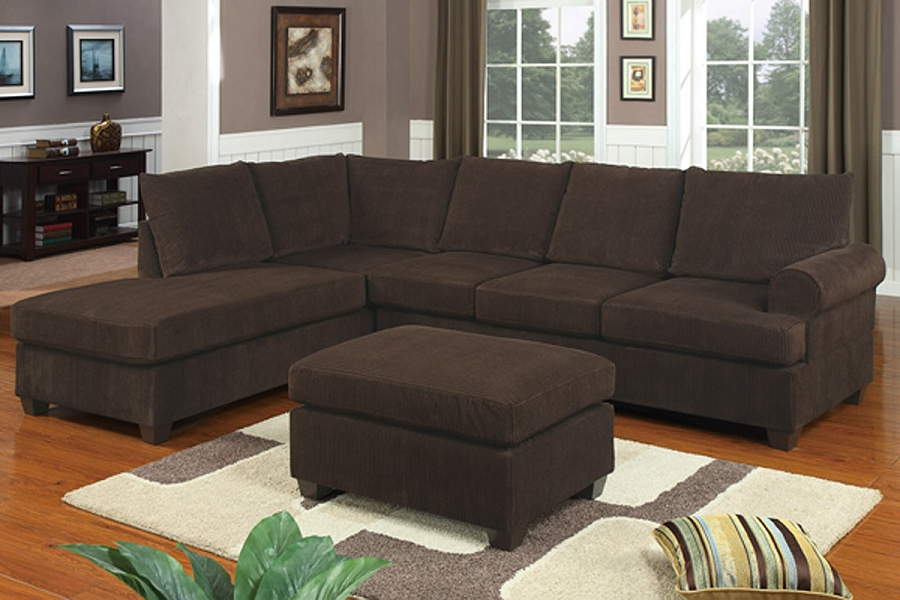 POUNDEX 2 PCS SECTIONAL, F7135