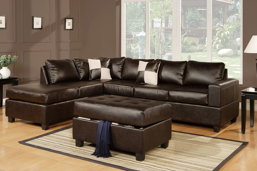 POUNDEX 3 PCS SECTIONAL, F7351
