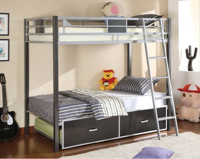 CLETIS TWIN/TWIN BUNK BED