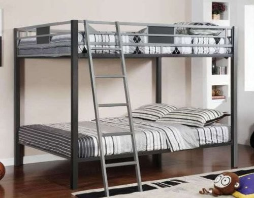 FULL/FULL METAL BUNK BED