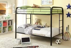 TWIN/TWIN METAL BUNK BED BLACK