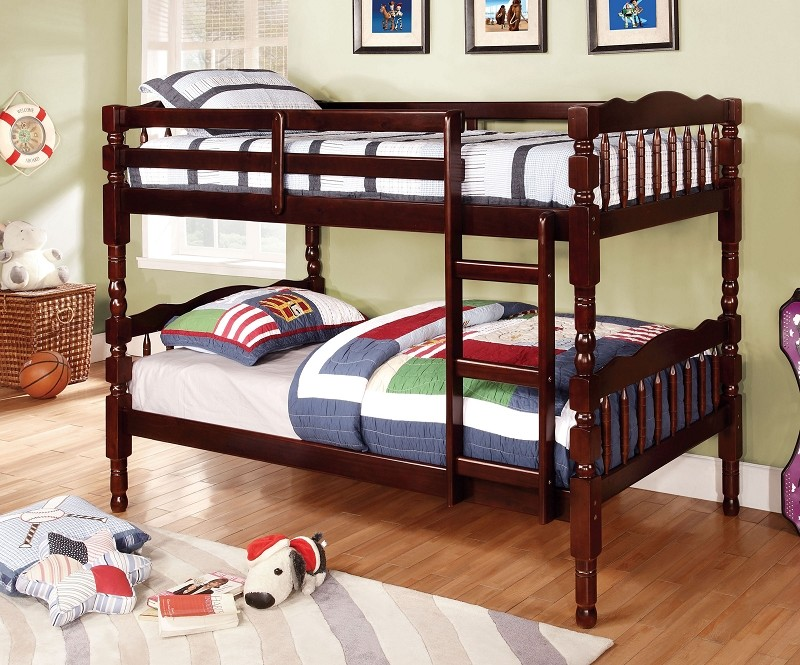 CATALINA TWIN/TWIN BUNK BED ESPRESSO FINISH