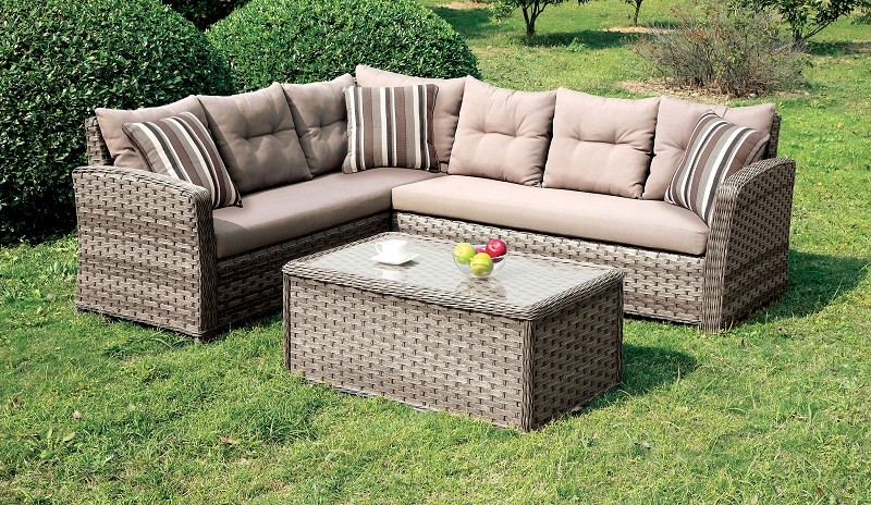 PATIO SECTIONAL (COFFEE TABLE SOLD SEPARATELY)