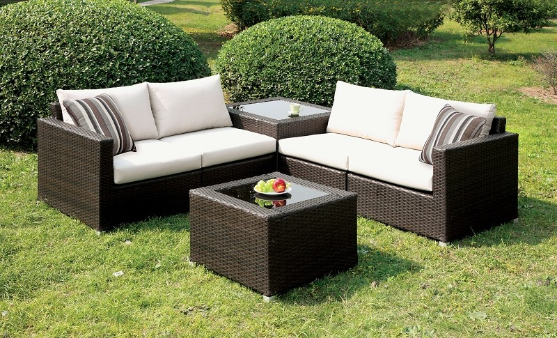 PATIO SECTIONAL IVORY