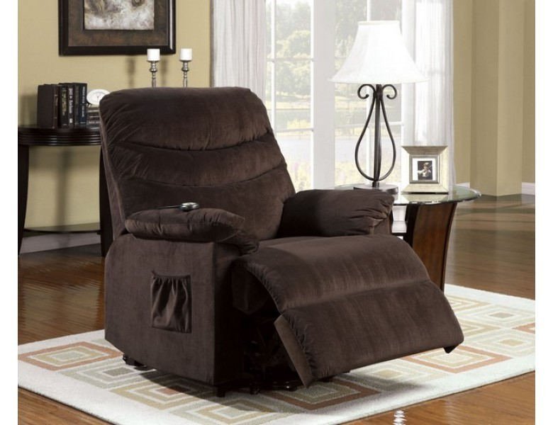 FURNITURE OF AMERICA PERTH POWER LIFT RECLINER, CM-RC6933