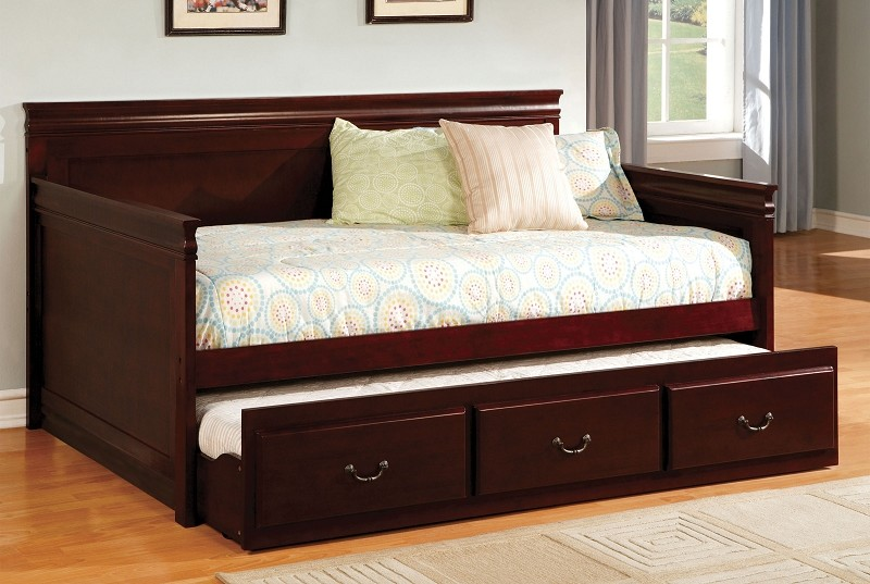 SAHARA  TWIN / TWIN DAYBED CHERRY FINISH