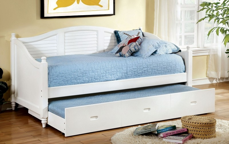 BEL AIR TWIN / TWIN DAYBED WHITE FINISH