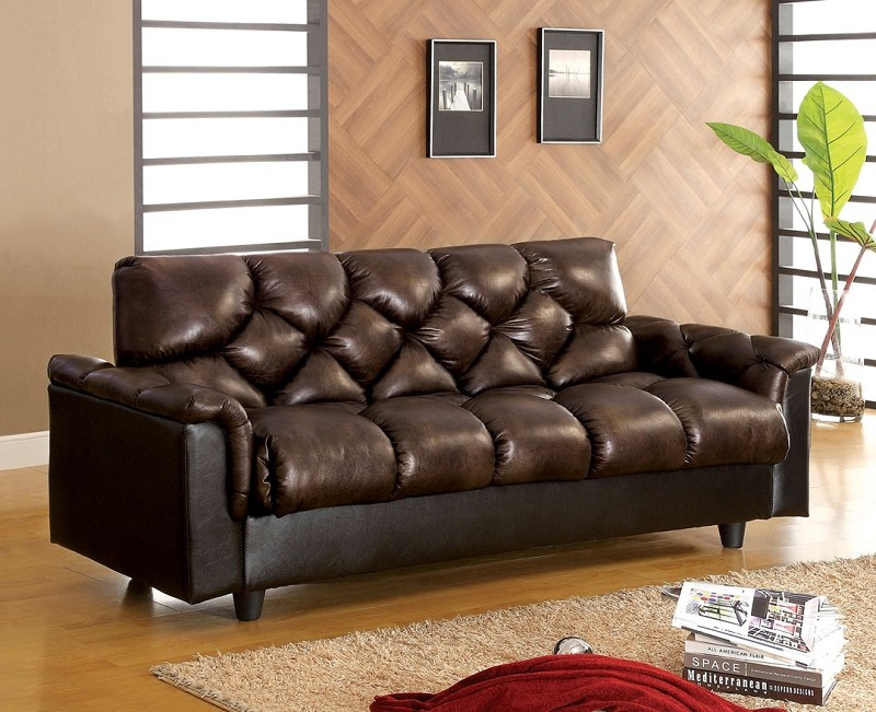 BOWIE ADJUSTABLE FUTON SOFA +STORAGE
