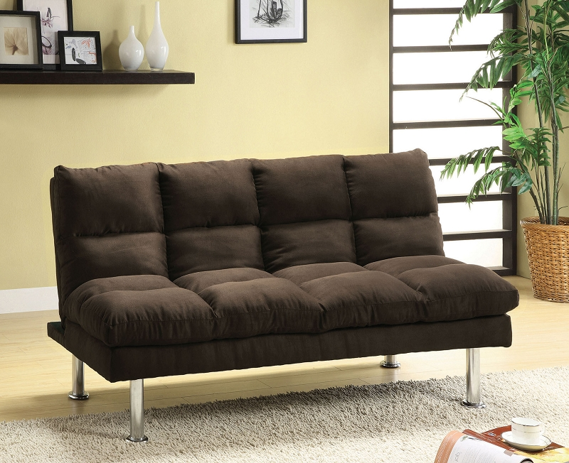 saratoga microfiber futon sofa bed rh worldfurniture4u com ikayaa microfiber futon sofa bed black microfiber futon convertible sofa bed
