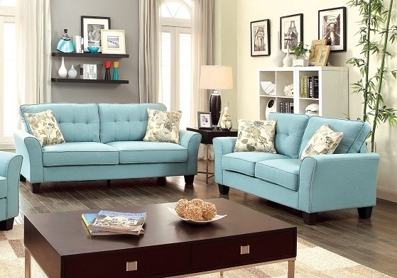 2 PCS SOFA + LOVE SEAT