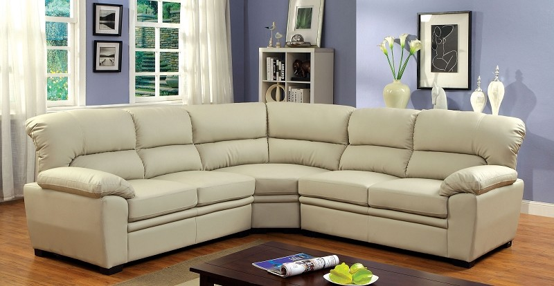 FURNITURE OF AMERICA OLIVER SECTIONAL, CM6325IV
