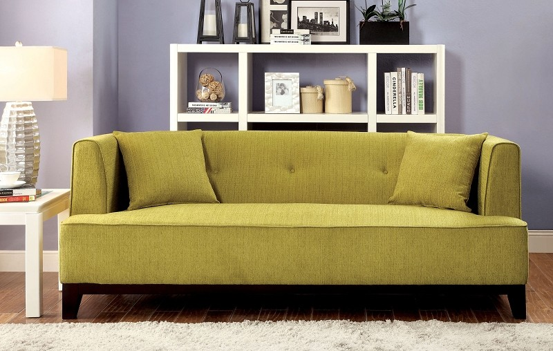 FURNITURE OF AMERICA, SOFA  LEMONGRASS, CM6761GR-SF