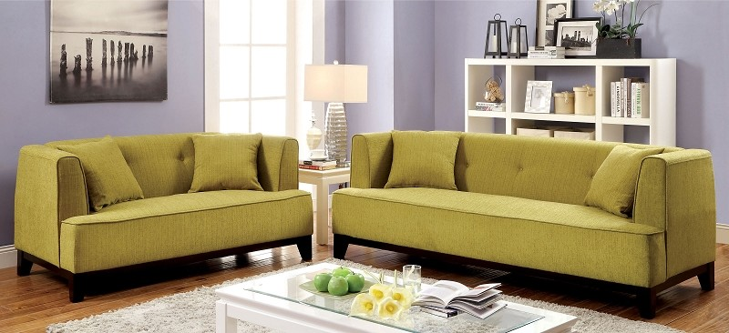 2 PCS SOFA SET LEMON GRASS TEAL