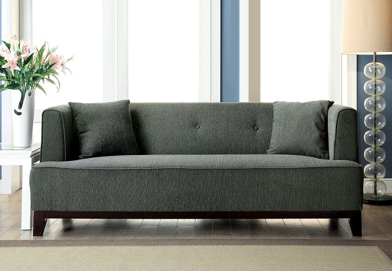 FURNITURE OF AMERICA, SOFA  GRAY, CM6167GY-SF