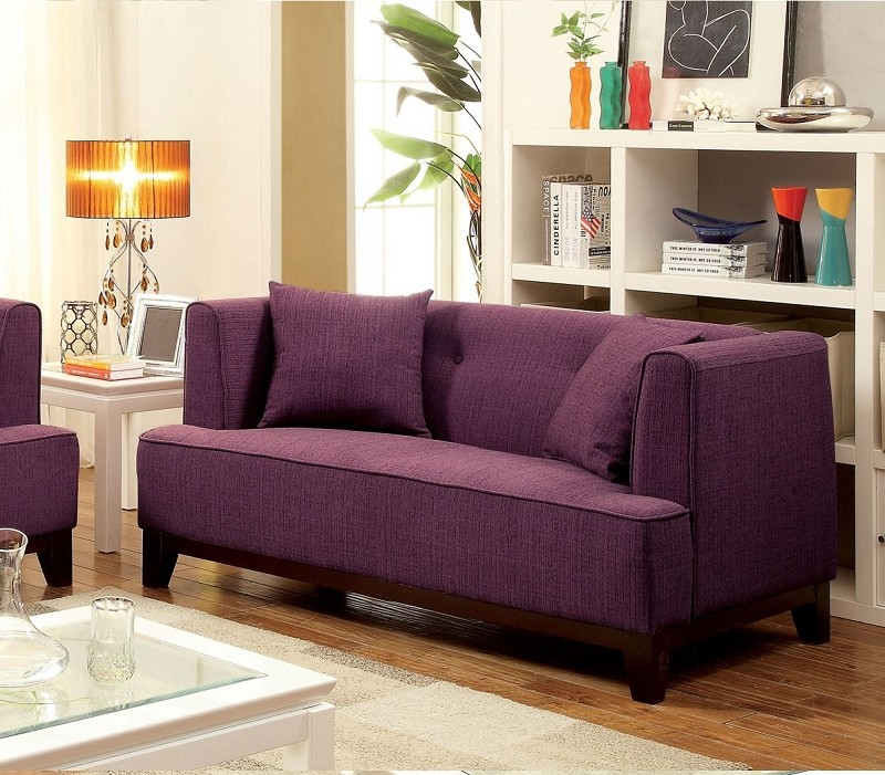 LOVE SEAT  PURPLE