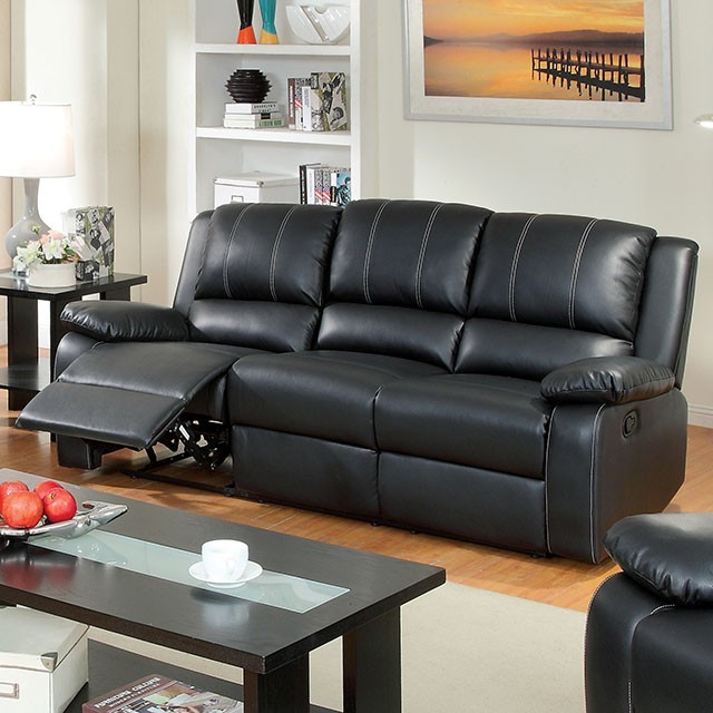 SOFA SET WITH 2 RECLINERS