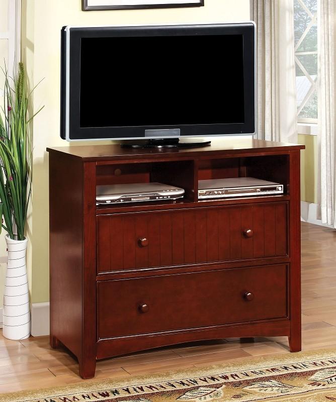 FURNITURE OF AMERICA, MEDIA CHEST  CHERRY, CM7905CH-TV