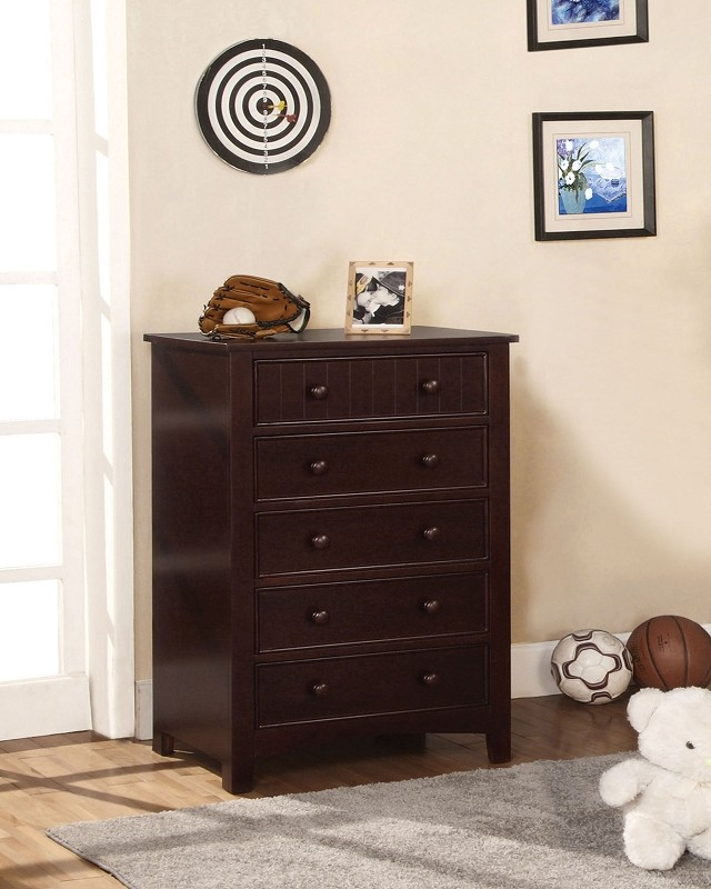 5 DRAWERS CHEST ESPRESSO