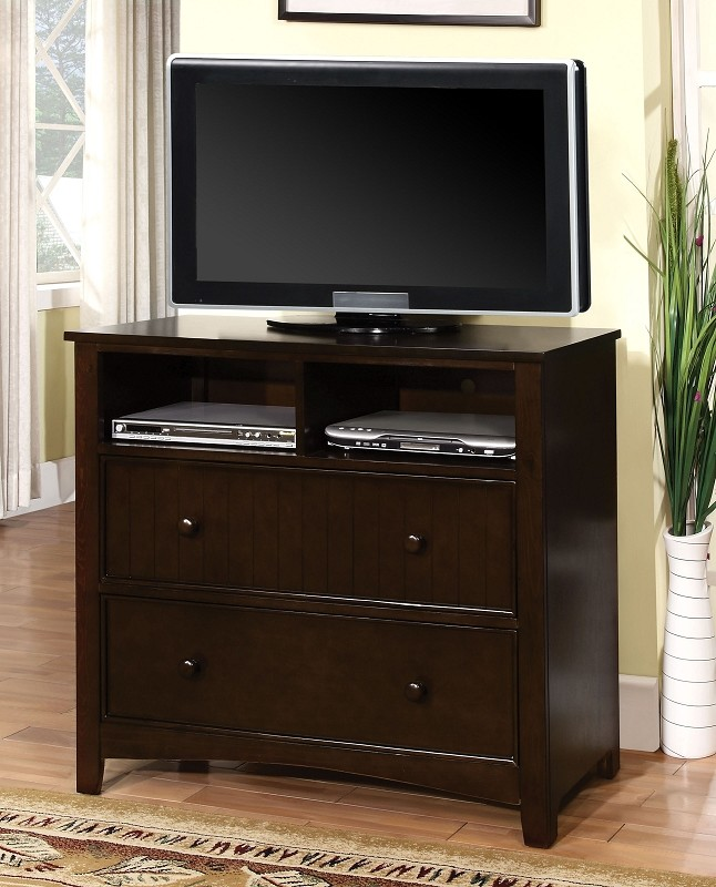 FURNITURE OF AMERICA, MEDIA CHEST ESPRESSO, CM7905DK-TV