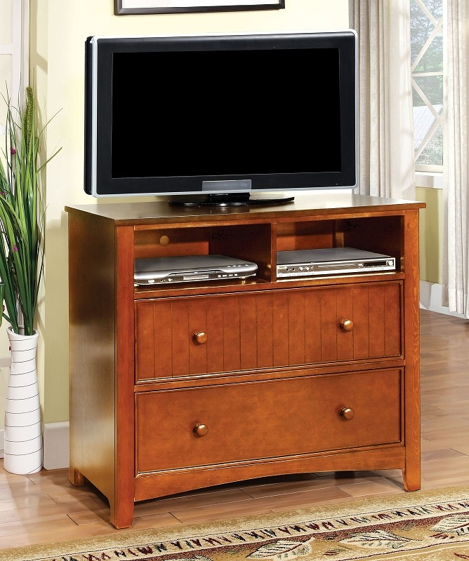 FURNITURE OF AMERICA, MEDIA CHEST  OAK, CM7905OK-TV
