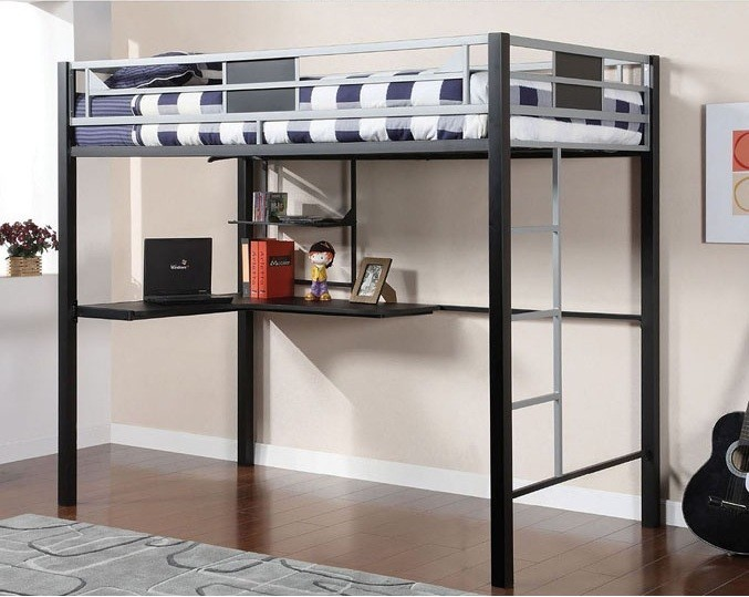 CLYFTON FULL BUNK BED + WORKSTATION