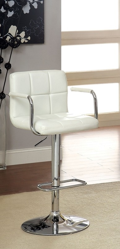SWIVEL BAR STOOL WITH ARMREST