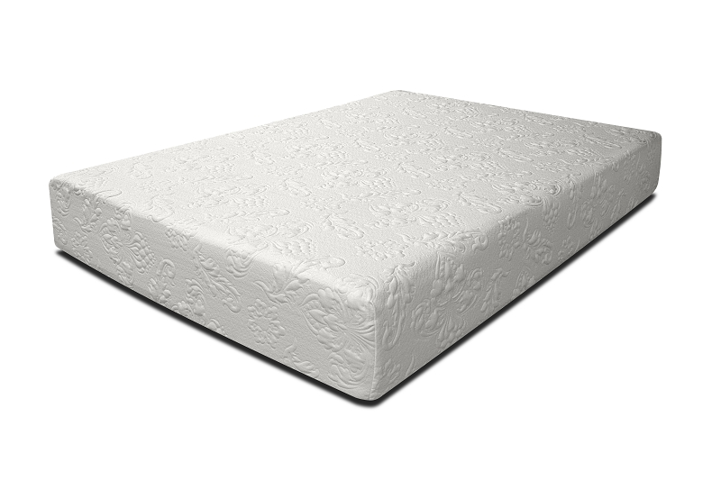 10 Gel Memory Foam Full Size Mattress Only