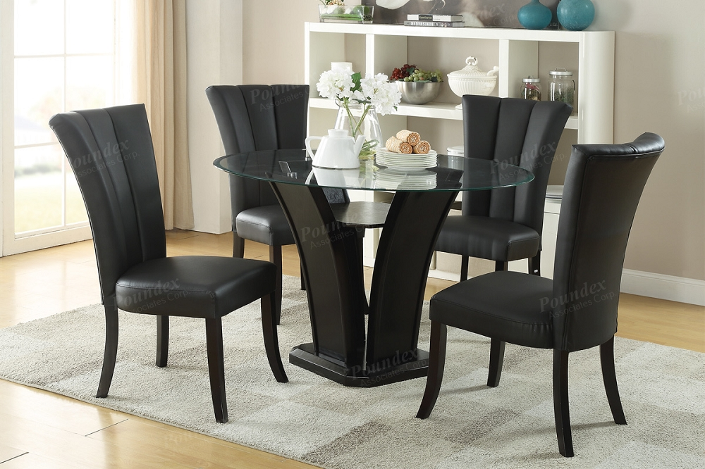 Poundex 5 Pcs Dining Set F2292 F1591