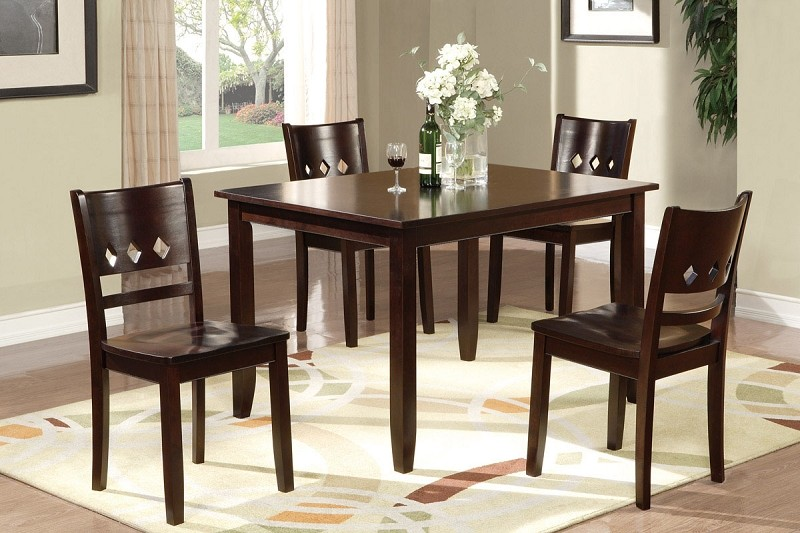 POUNDEX, 5PC DINETTE SET, F2242